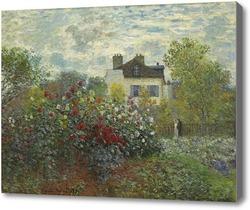 Картина Цветущая кустовая роза