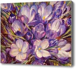Купить картину Первые цветы
