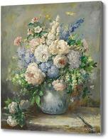Картина Цветы, Орт Джон
