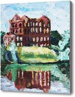 Картина Руины мельницы