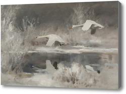 Картина Лебеди