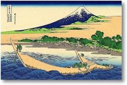 Картина . Берег Тагоноура  в Эдзири , тракт Токайдо