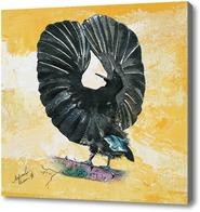 Картина Райская черная птица