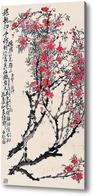 Купить картину Цветение персика