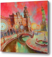 Картина На мосту