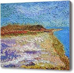 Картина Соленое озеро