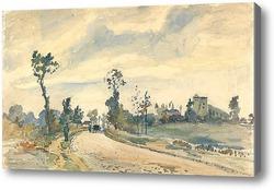 Картина Рут де Сен-Жермен, 1871