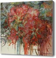 Картина Красные цветы