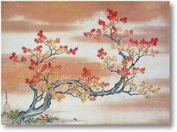 Картина Осеннее дерево