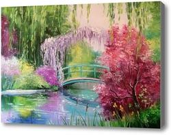 Картина В саду у Моне