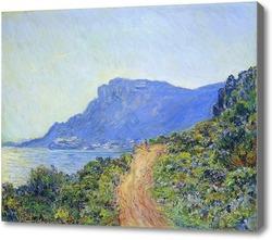 Картина Горная дорога Монако