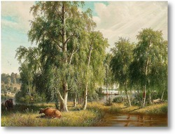 Купить картину Летний пейзаж