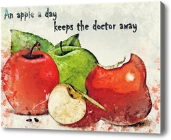 Картина A apple a day