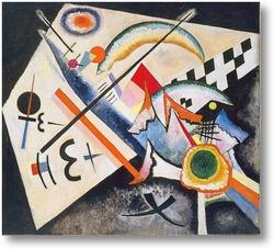 Картина Белый крест