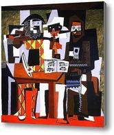 Картина Три музыканта.
