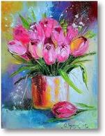 Картина Нежные тюльпаны