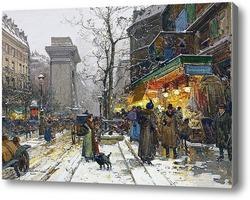 Картина Бульвар Бон-Нувель