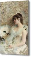 Картина Девушка с колибри
