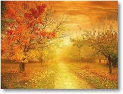Купить картину Осенняя дорога