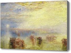 Картина Подход к Венеции