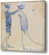 Картина Принц и принцесса