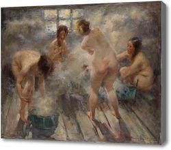 Купить картину В русской бане