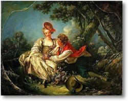 Картина Четыре времени года. Осень (1755)