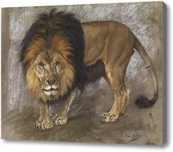 Картина Шагающий лев