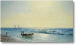 Картина Моряки сходят на берег