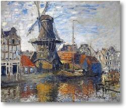 Купить картину Мельница в Амсетрдаме