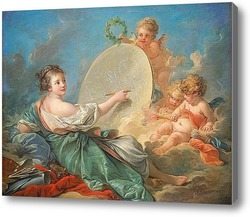 Купить картину Аллегория изобразительного искусства