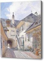 Картина Картина художника XIX-XX веков, пейзаж, город, Мозер Ричард