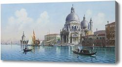 Купить картину Венецианские сцены, Онганиа Умберто