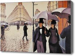 Картина Парижская улица