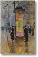 Картина Сцена парижской улицы