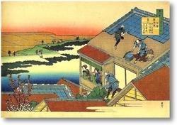 Картина Крыша дома