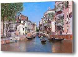 Картина Рио Сан Тровазо, Венеция