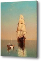 Картина На спокойной воде