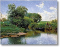 Купить картину Прогулка по реке