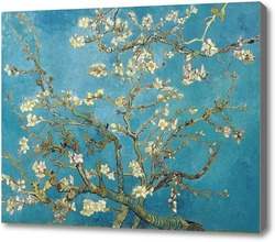 Купить картину Цветущая ветка миндаля