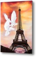 Картина Париж никогда не кончается