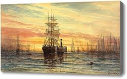Купить картину Харбор, 1885