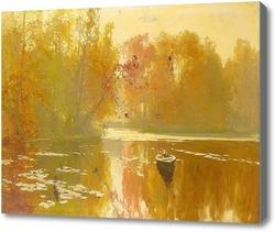 Картина Осенняя рыбалка