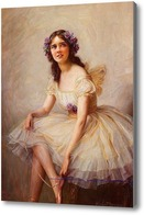 Картина Балерина.Дрейпер Герберт