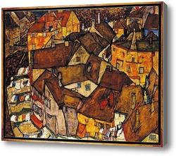 Картина Полумесяц Домов (маленький Город V)