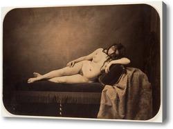 Картина Обнаженная женщина, на диване