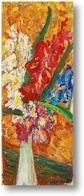 Картина Натюрморт с гладиолусами