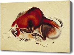 Картина Лежащий буйвол
