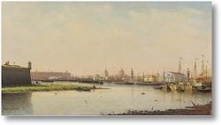Купить картину Вид на Санкт-Петербург