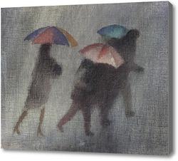 Картина Проливной дождь, Макинтош